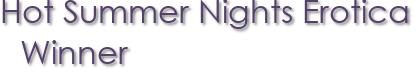 Hot Summer Nights Erotica Winner